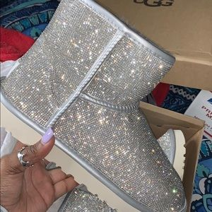 Silver Bling Uggs